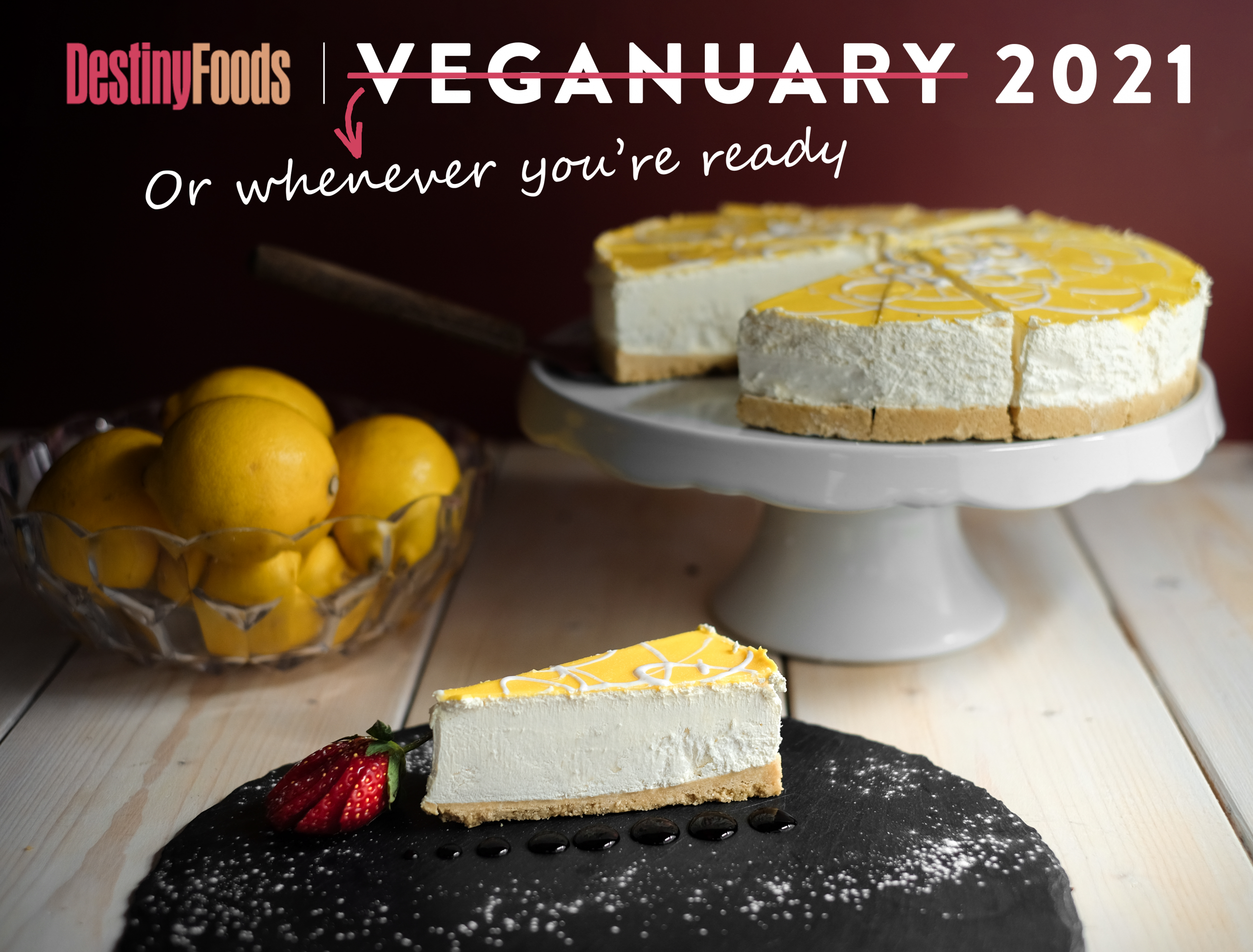 Veganuary is for a month, but dairy-free desserts are forever