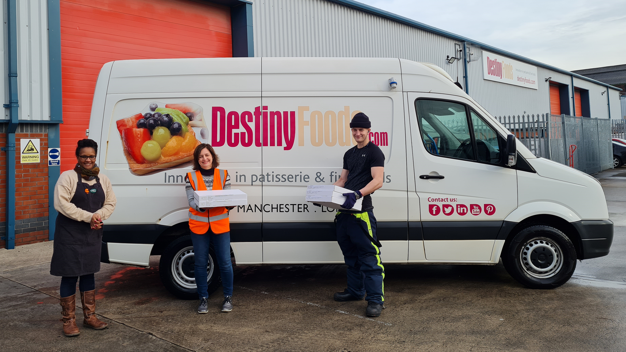 Giving back and reducing food waste: the story of our partnership with Cracking Good Food